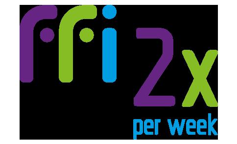 2-x-per-week